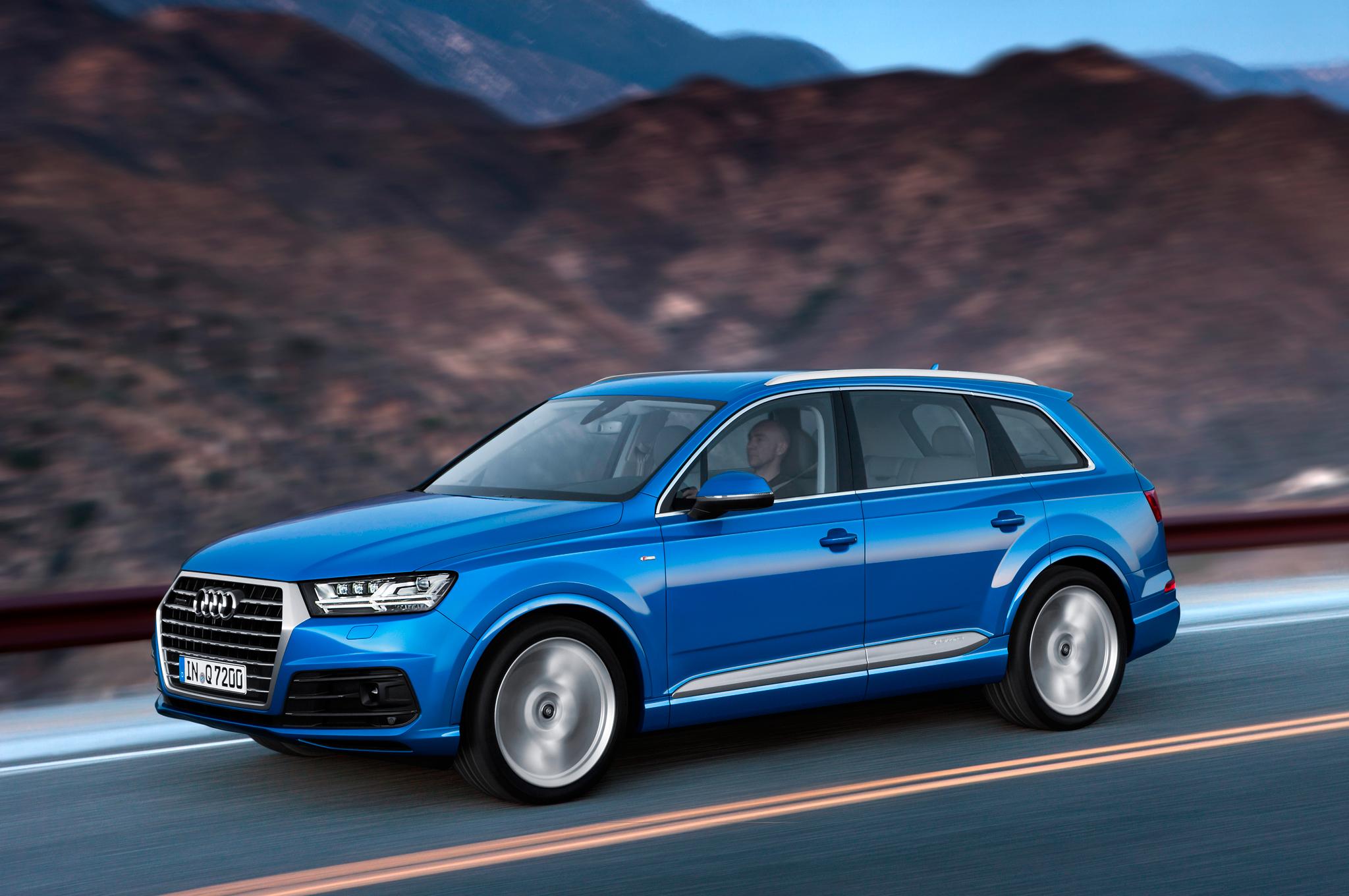2016 Audi Q7 Performance Test