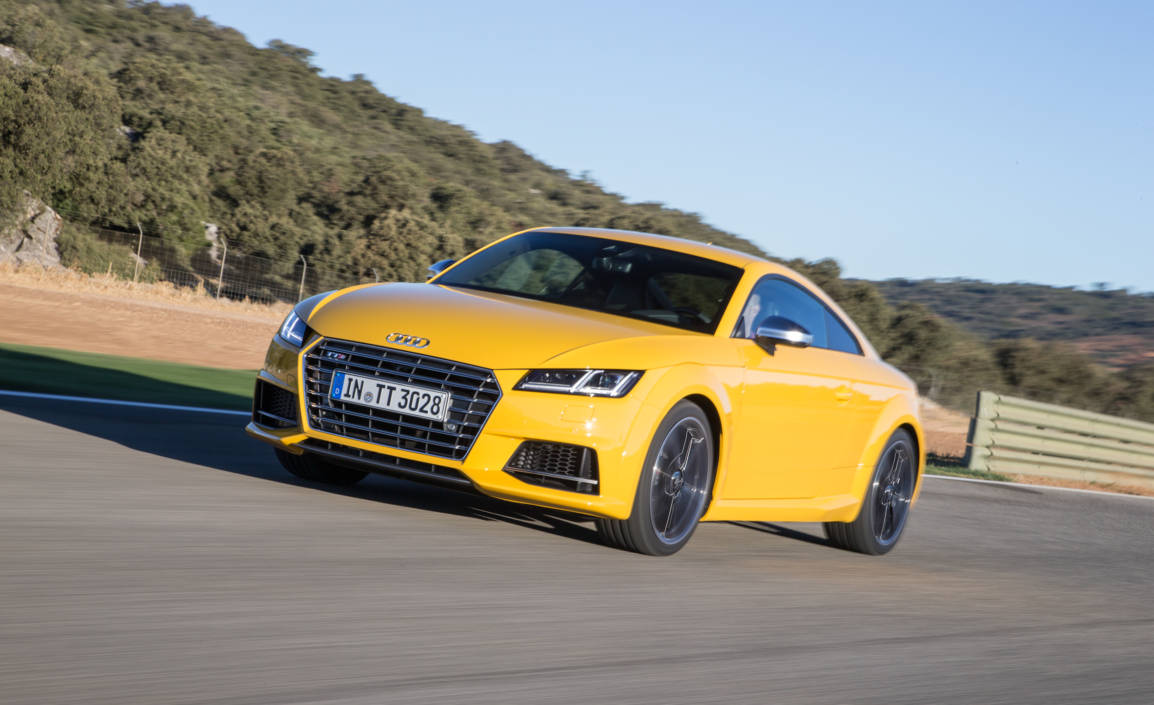 2016 Audi TTS Test Front and Side View
