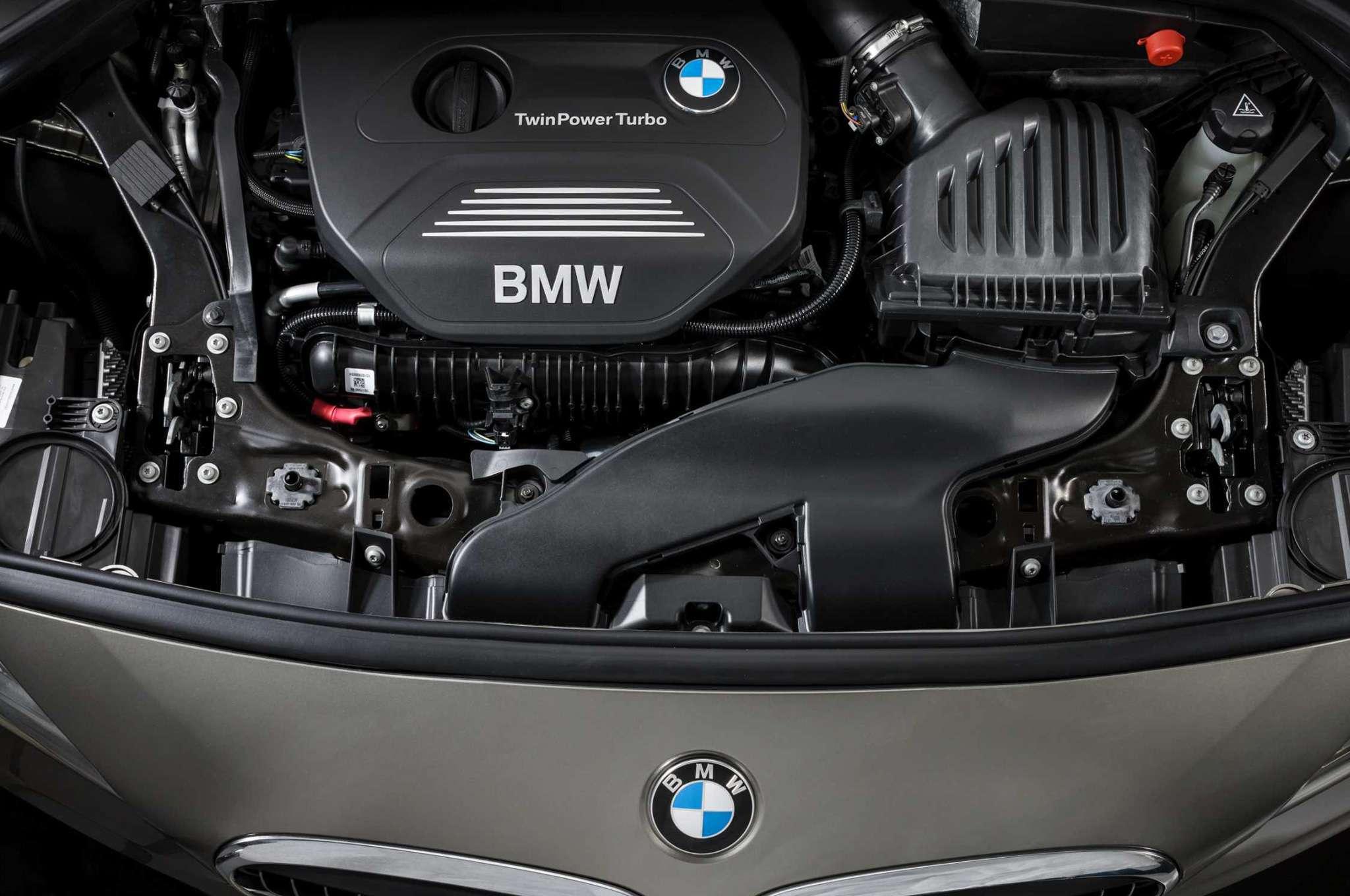 2016 BMW 2 Series Active Tourer 225i TwinPower Turbo Engine