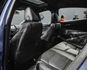 2016 Chevrolet Cruze Rear Seats Interior
