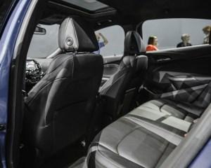 2016 Chevrolet Cruze Rear Seats Interior