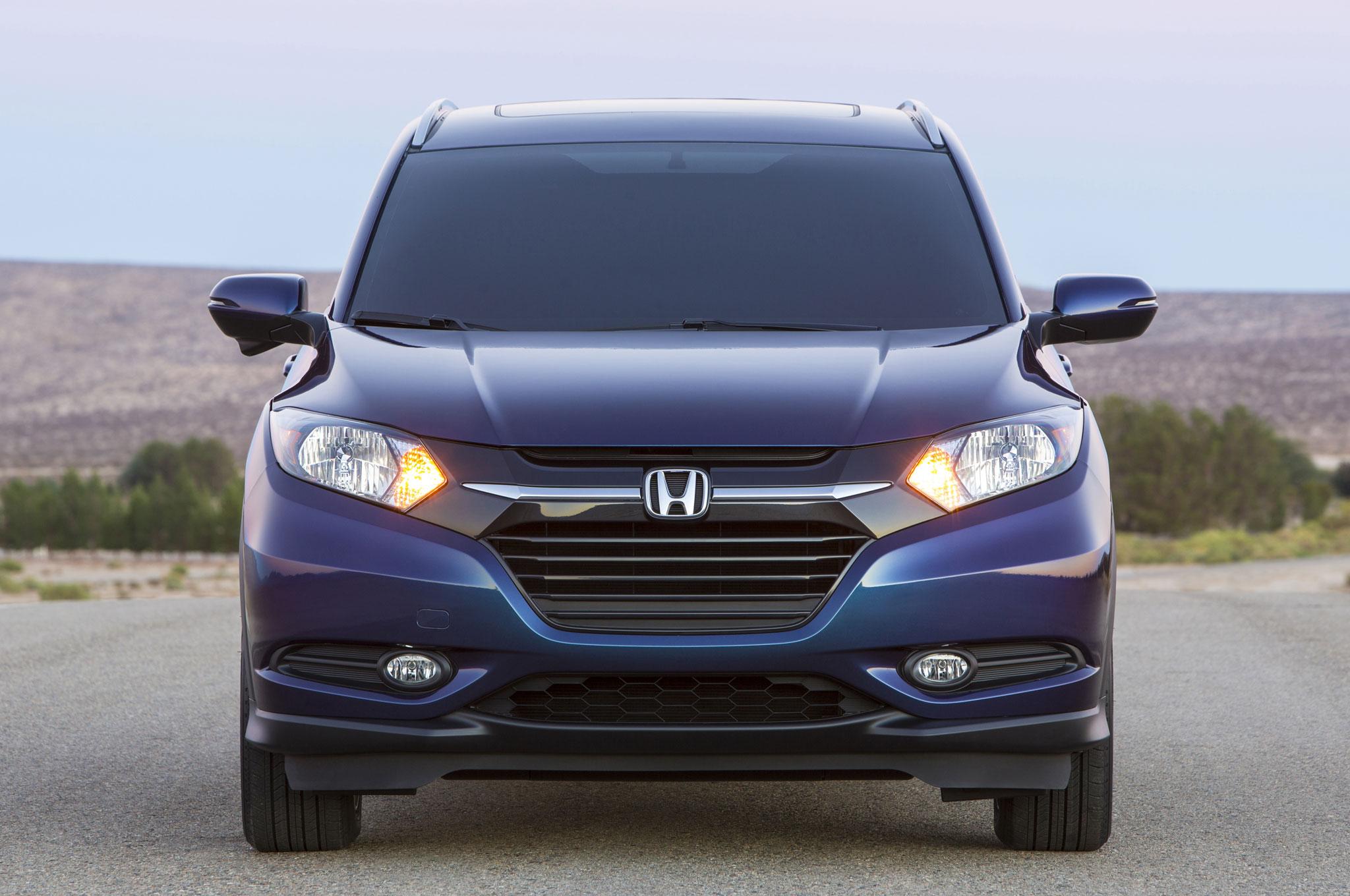 2016 Honda HR-V Front End Design