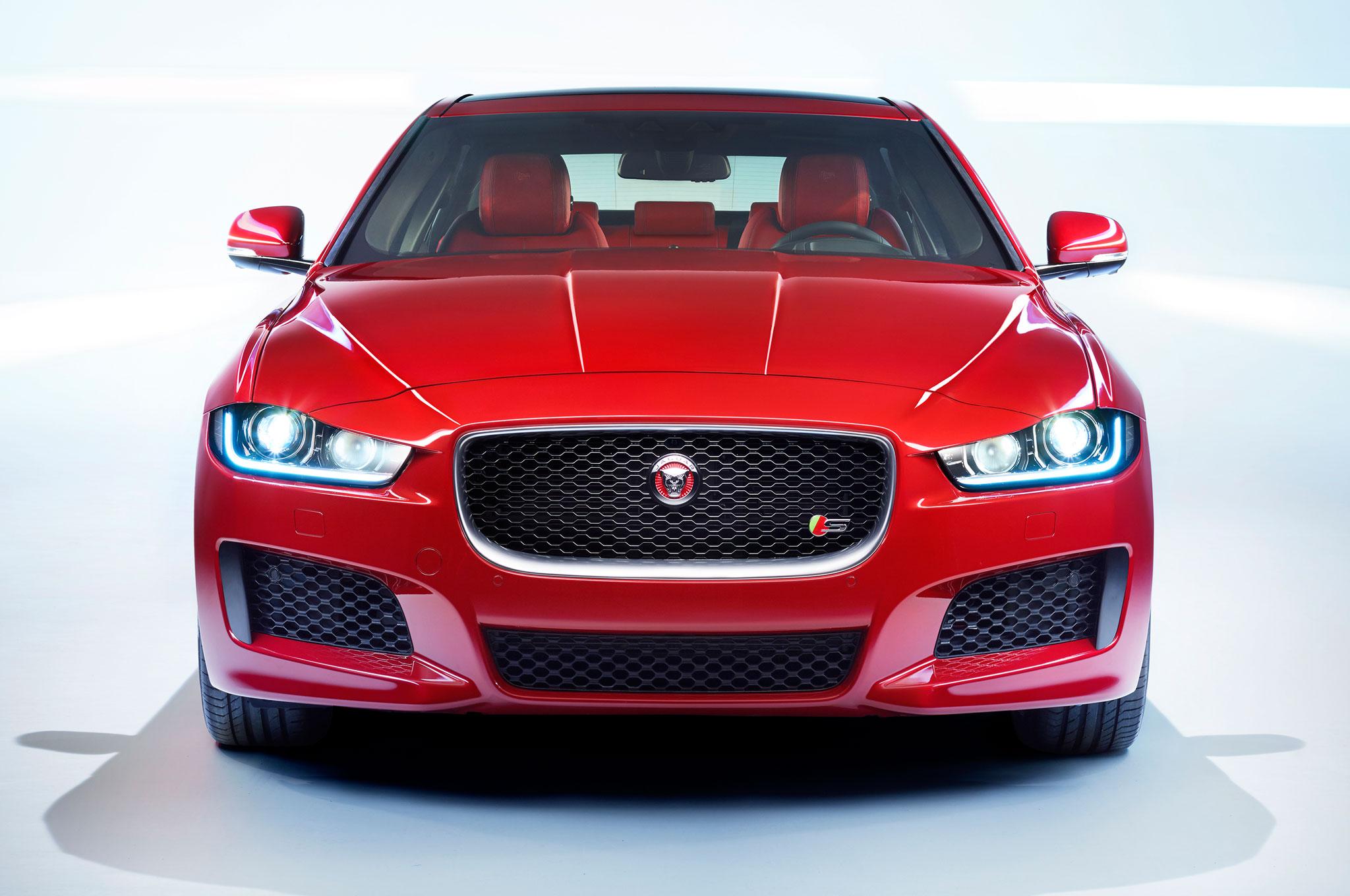 2016 Jaguar XE Facelift Front Photo
