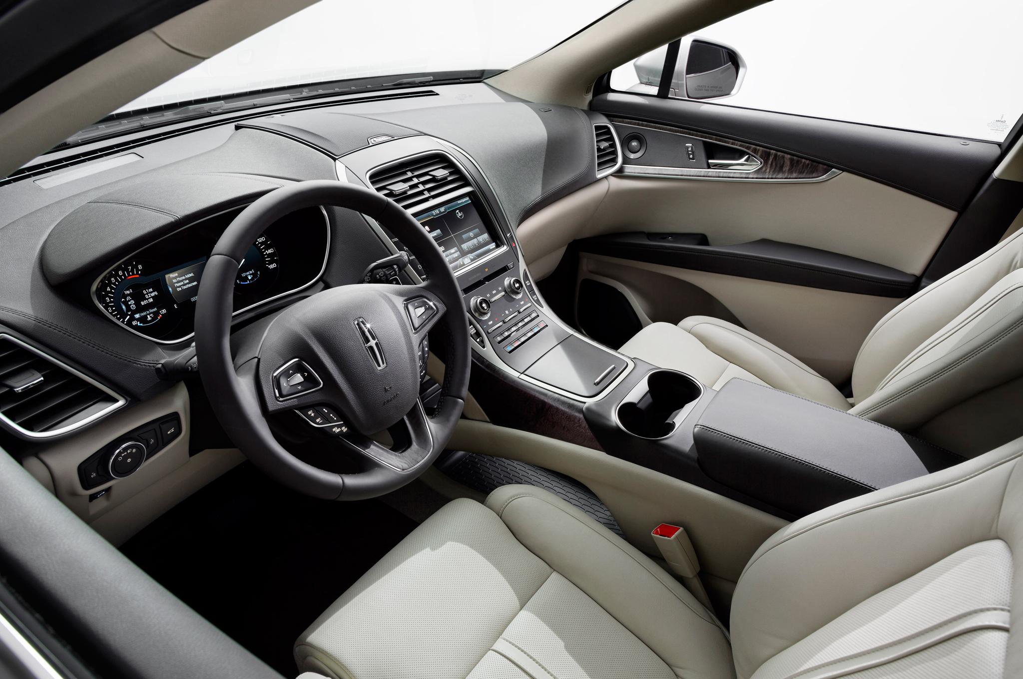 2016 Lincoln MKX Interior Profile