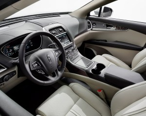 2016 Lincoln MKX Interior Profile