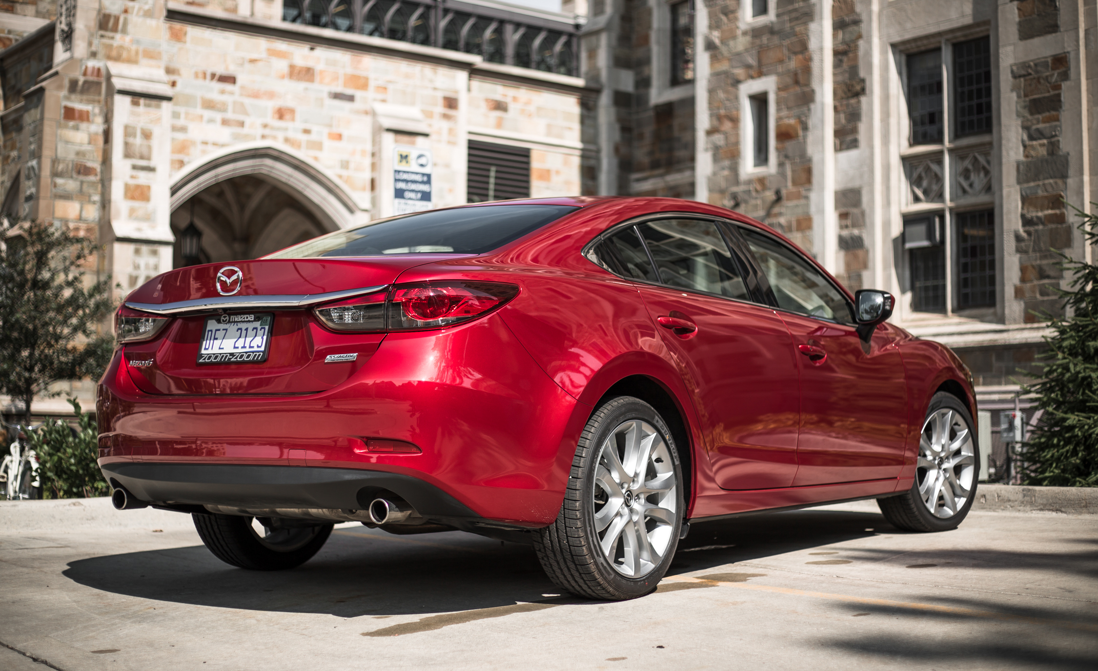 2016 Mazda 6 Touring Exterior Rear and Side