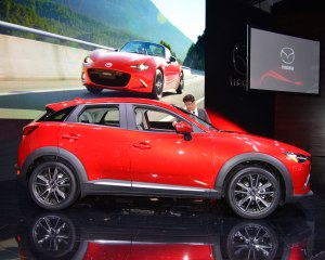 2016 Mazda CX-3 Red Side View