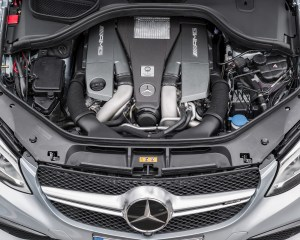 2016 Mercedes Benz AMG GLE63s 4Matic Coupe Engine