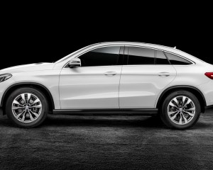 2016 Mercedes Benz AMG GLE63s Coupe Side Profile