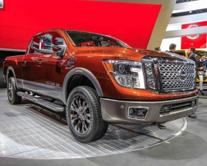2016 Nissan Titan Exterior Preview