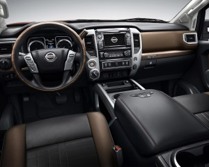 2016 Nissan Titan XD Front Interior Cockpit
