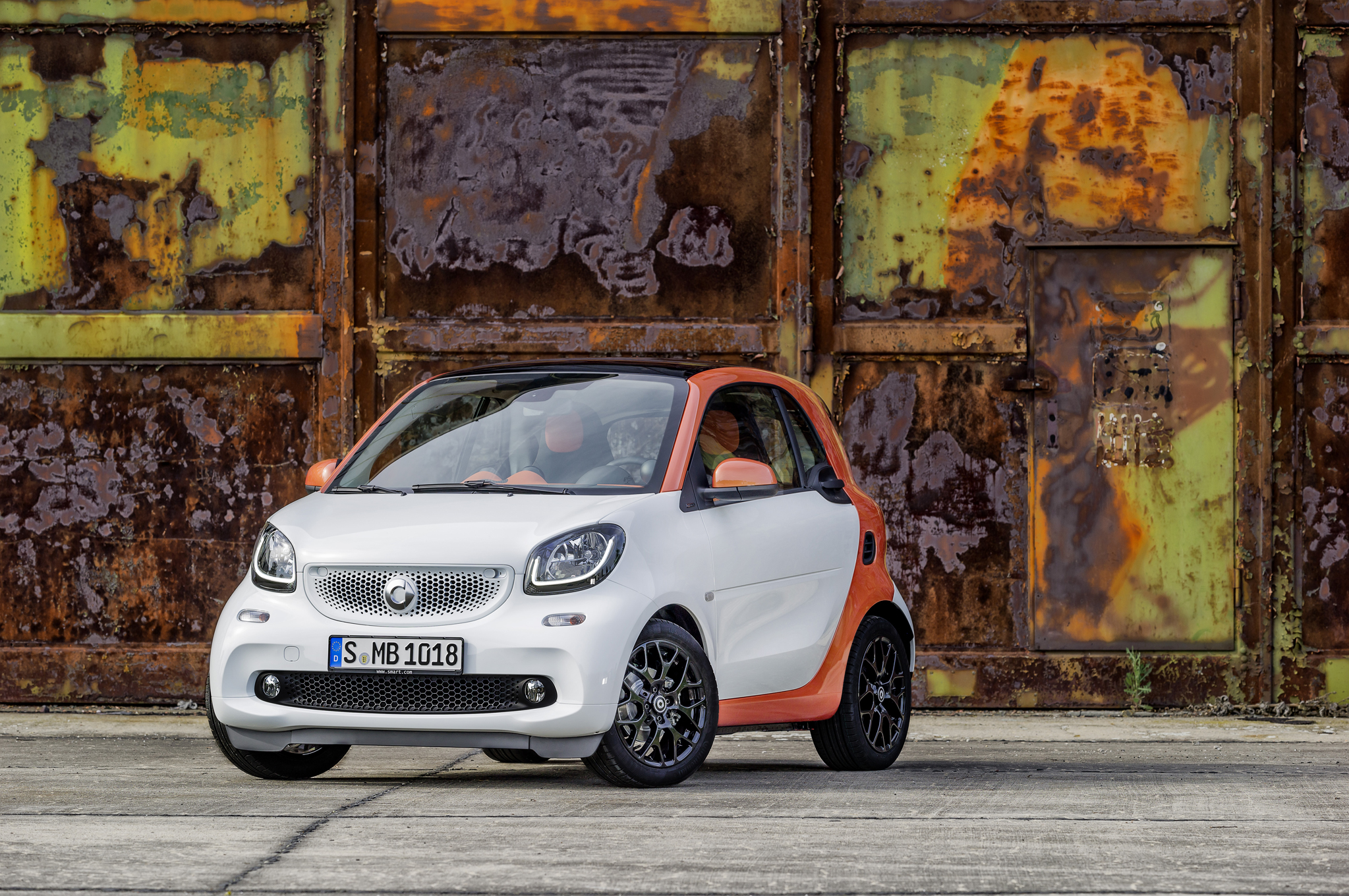 2016 Smart Fortwo Exterior Preview
