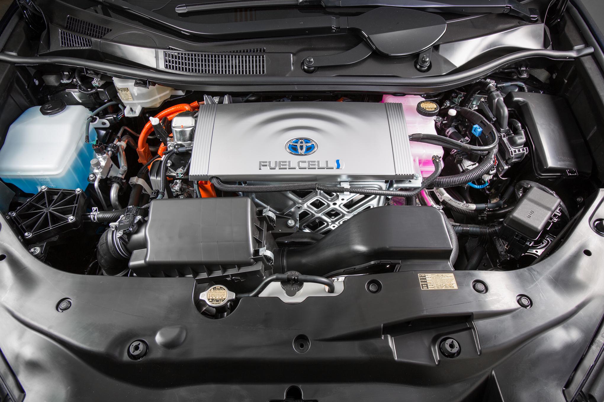 2016 Toyota Mirai Engine View