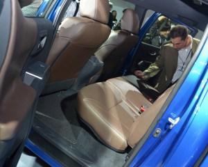 2016 Toyota Tacoma Rear Seats