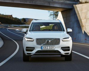 2016 Volvo XC90 T8 White Exterior Preview