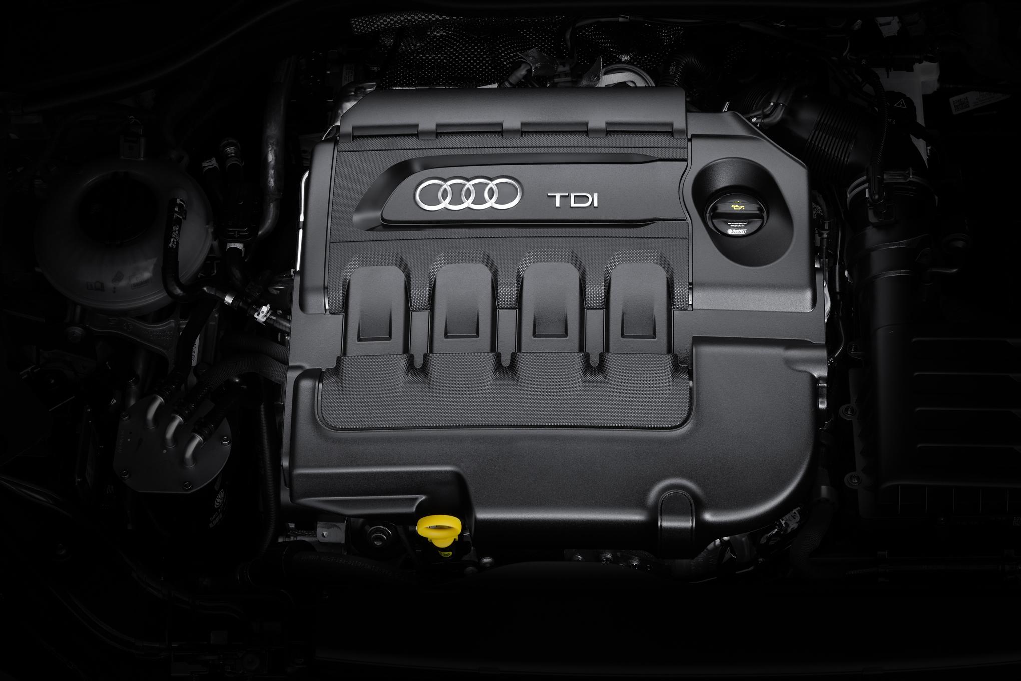 2016 Audi TT Engine View