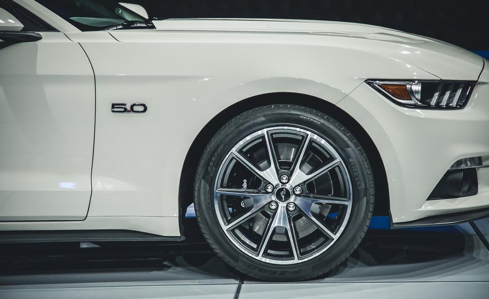 2015 Ford Mustang 50th Anniversary Edition Front Wheel