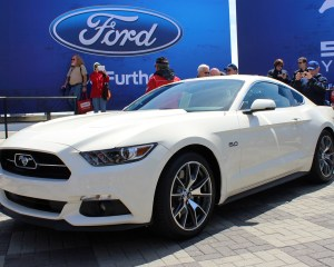 2015 Ford Mustang Limited 50th Anniversary Edition