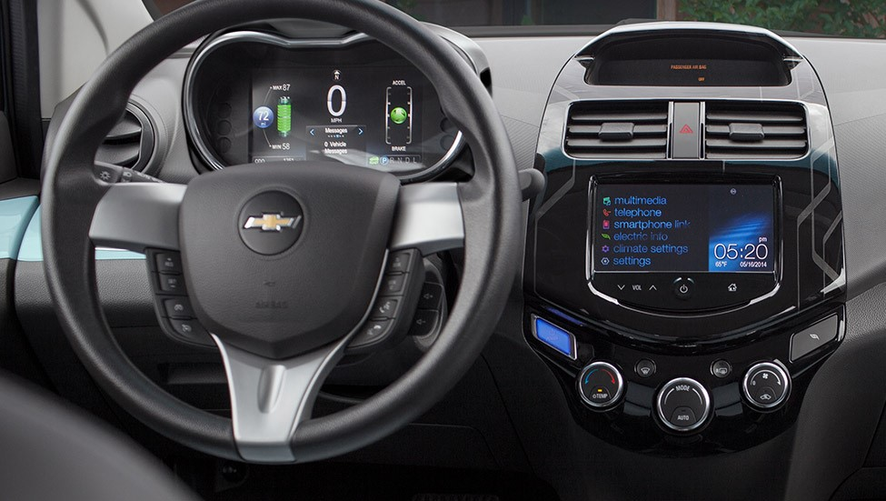 2015 Spark EV Dashboard View