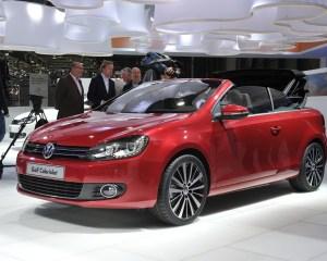 2015 Volkswagen Golf Cabriolet Auto Show