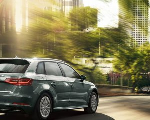 2016 Audi A3 e-Tron Rear Side Preview