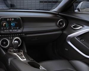 2016 Chevrolet Camaro Convertible Dashboard