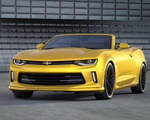 2016 Chevrolet Camaro Convertible Yellow Exterior Preview