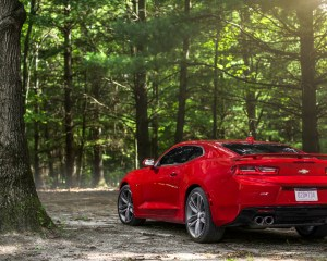 2016 Chevrolet Camaro SS Exterior Rear and Side View