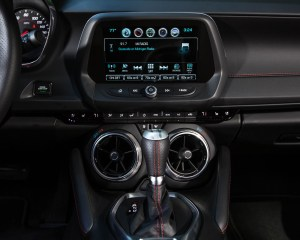 2016 Chevrolet Camaro SS Interior Center Head Unit
