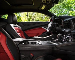 2016 Chevrolet Camaro SS Interior Cockpit Seats