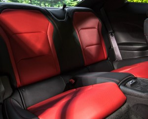 2016 Chevrolet Camaro SS Interior Rear Passenger Seats