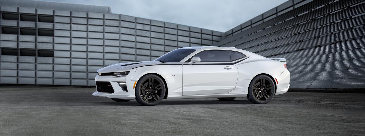 2016 Chevrolet Camaro White Exterior Preview