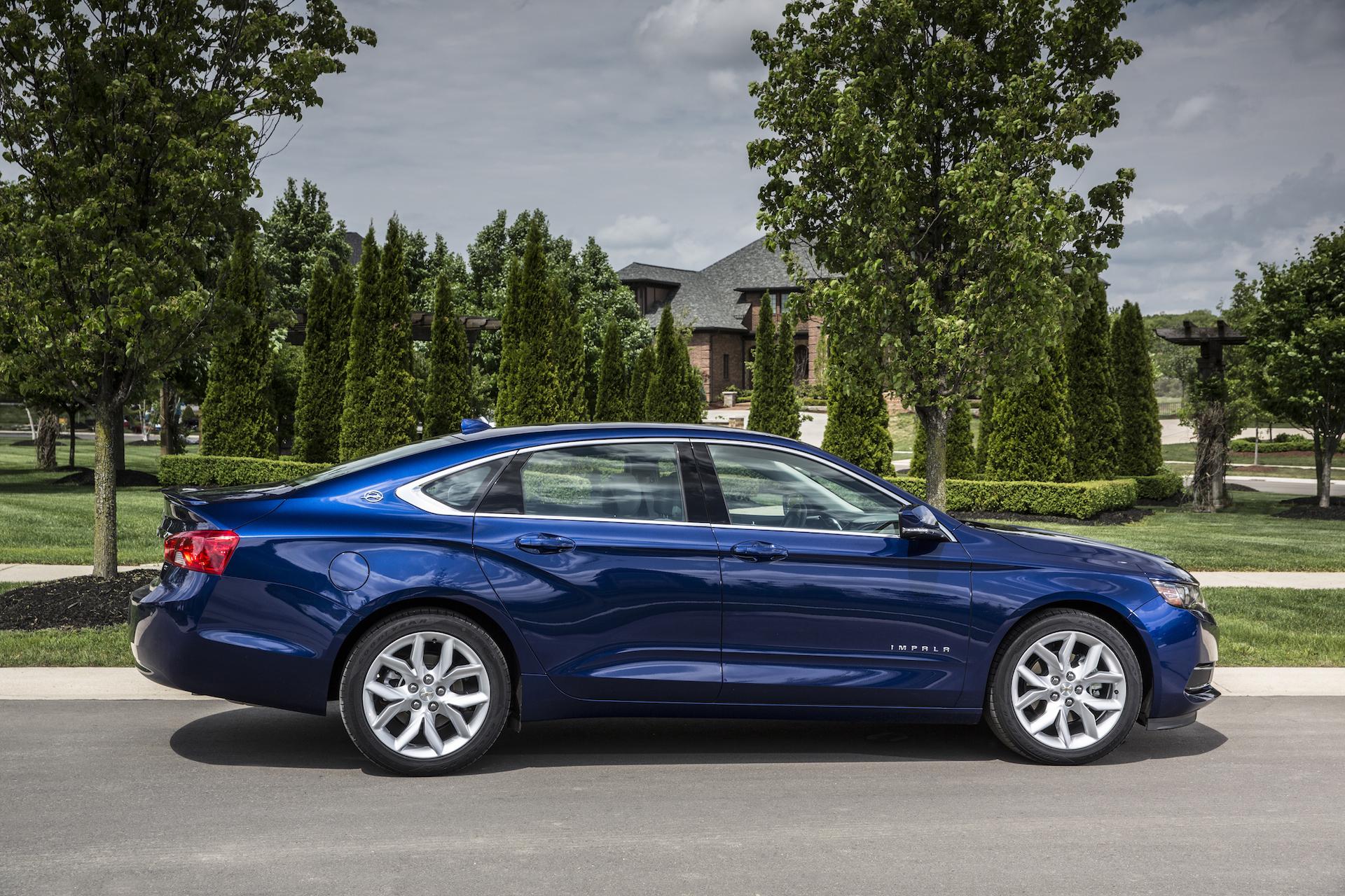 2016 Chevrolet Impala Blue Side Design