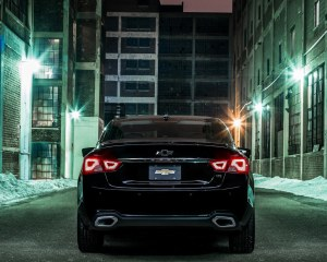 2016 Chevrolet Impala Midnight Edition Rear Photo