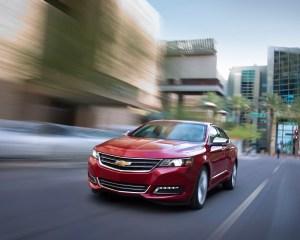2016 Chevrolet Impala Performance Test