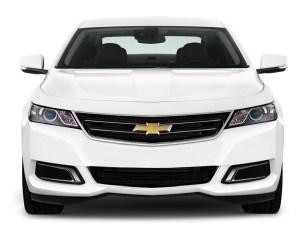 Chevrolet Impala White Front End Photo