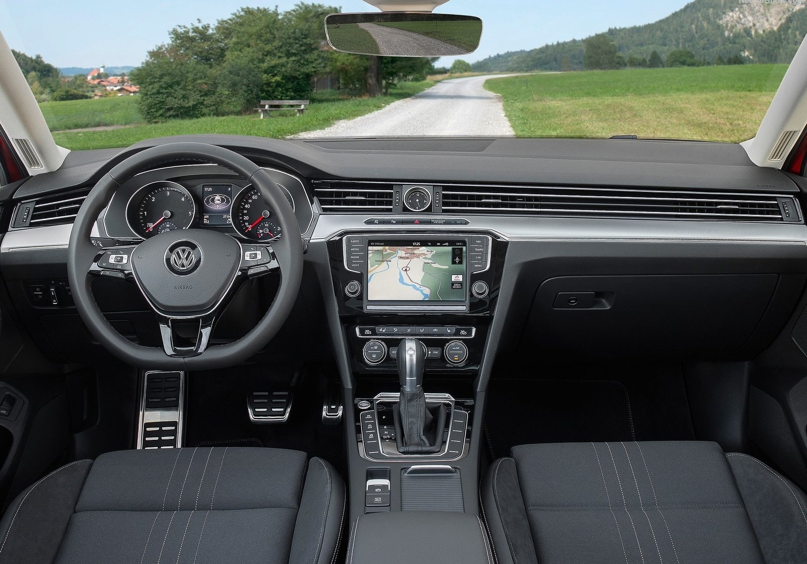 2016 Volkswagen Passat Alltrack Dashboard Interior