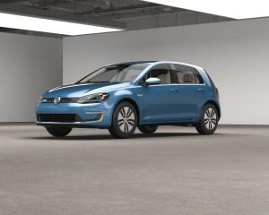 2016 Volkswagen e-Golf Exterior Profile