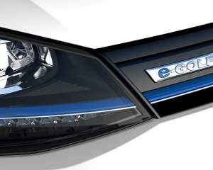 2016 Volkswagen e-Golf Headlamp