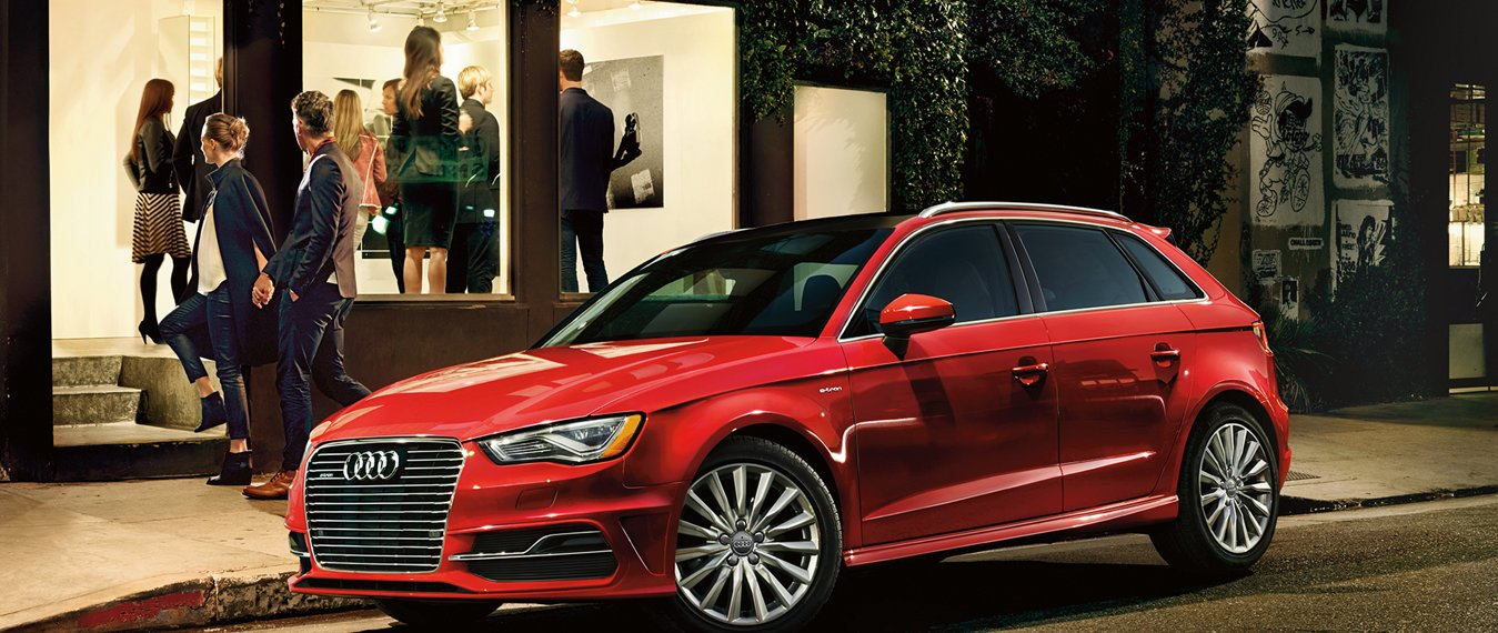 Audi A3 Sportback e-Tron Exterior Overview