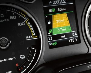 Audi A3 e-Tron Speedometer Preview