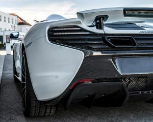 McLaren 650S Spider Nürburgring 24H Rear End