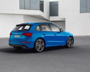 New 2016 Audi SQ5 TDI Plus Side Rear Angle