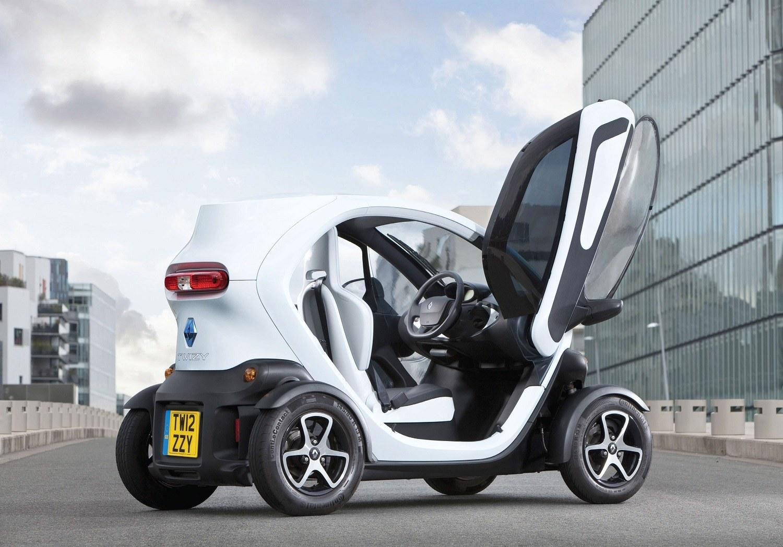 New Renault Twizy Exterior with Opened Door