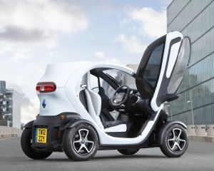 New Renault Twizy Exterior with Opened Door