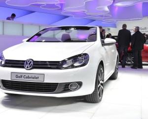 Volkswagen Golf Cabriolet Front Image