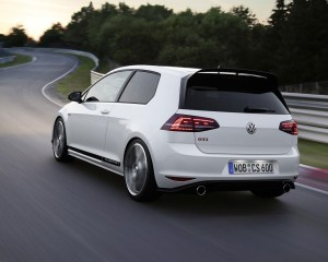 Volkswagen Golf GTI Clubsport Rear in Motion