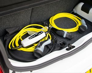 Volkswagen e-Up Rear Cabin and Charger