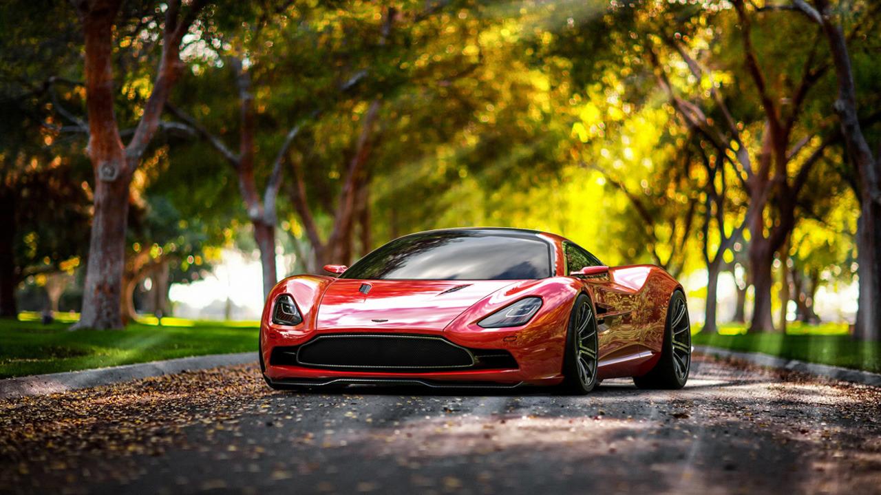 2014 Aston Martin DBC Concept