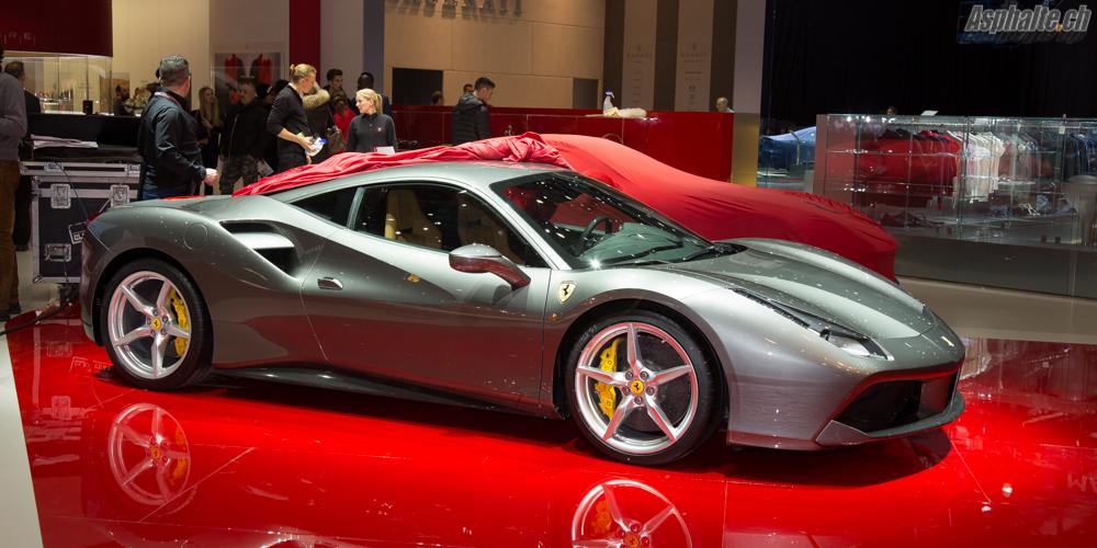 Auto Show: 2015 Ferrari 488 GTB